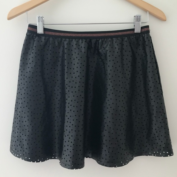 Epic Threads Other - Epic Threads Faux Leather Star Skirt Size XL